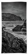Plemont Rocks Beach Towel