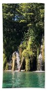 Plitvice Falls Beach Towel