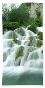 Plitvice Lakes Beach Towel