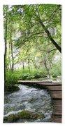 Plitvice Lakes National Park Beach Towel