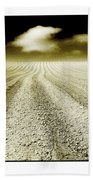Ploughed 1 Beach Towel
