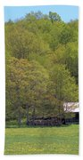Plum Hollow Sugar Shack In Spring Beach Towel