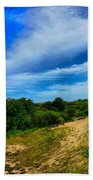 Plum Island Dunes Beach Towel
