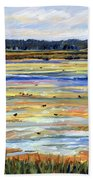 Plum Island Salt Marsh Beach Towel