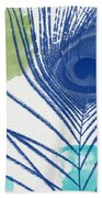 Plumage 3- Art By Linda Woods Beach Towel