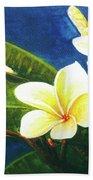 Plumeria Flower # 140 Beach Sheet