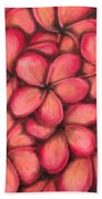Plumerias Beach Towel