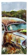 Plymouth On The Rocks Beach Towel
