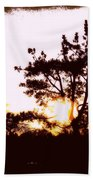 Pnw Sunset Beach Towel