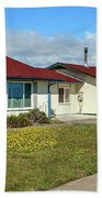 Point Arena Lighthouse Keeper's Houses Lodging Beach Towel
