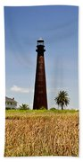 Point Bolivar Lighthouse Beach Sheet