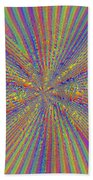 Point Counter Point Beach Towel