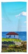 Point Judith Lighthouse Beach Towel