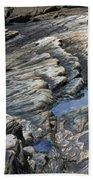 Point Lobos Rock 4 Beach Towel