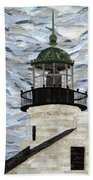 Point Loma Lighthouse Beach Towel