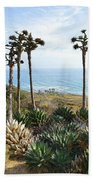 Point Loma Lighthouse Overlook Beach Towel