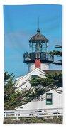 Point Pinos Lighthouse Beach Towel