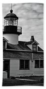 Point Pinos Pacific Grove Lighthouse Beach Towel