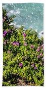 Point Reyes National Seashore Coast On Pacific Ocean Beach Towel