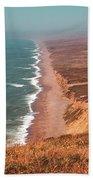 Point Reyes National Seashore Beach Towel