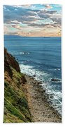 Point Vincente Lighthouse Beach Towel