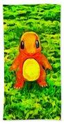 Pokemon Go Charmander - Da Beach Towel