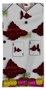 Poker Art Beach Towel