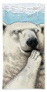 Polar Prayer Beach Towel