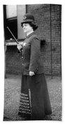 Policewoman, 1909 Beach Towel