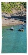 Polkerris Beach And Harbour Beach Sheet