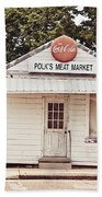 Polk's Meat Market Beach Towel