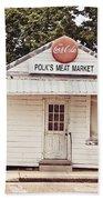 Polk's Meat Market Beach Sheet