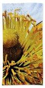 Pollinating Beach Towel