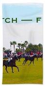 Polo Match Florida Beach Sheet