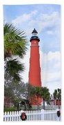 Ponce De Leon Lighthouse Beach Towel