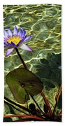 Pond Florals Beach Towel