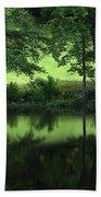 Pond Reflect Beach Sheet