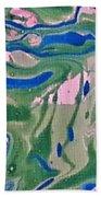 Pond Swirl 2 Beach Towel