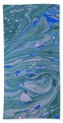 Pond Swirl 3 Beach Towel