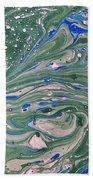 Pond Swirl 4 Beach Towel
