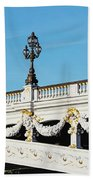 Pont Alexandre IIi - Paris, France Beach Towel