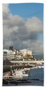 Ponta Delgada Waterfront Beach Towel