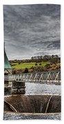 Pontsticill Reservoir Valve Tower Beach Towel