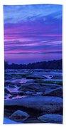 Pony Pasture Sunset Beach Towel by Jemmy Archer