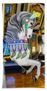 Pony Carousel - Pony Series 5 Beach Towel
