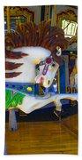 Pony Carousel - Pony Series 6 Beach Towel