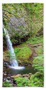 Ponytail Falls, Oregon Beach Towel