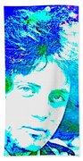 Pop Art Billy Joel Beach Towel