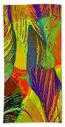 Pop Art Cannas Beach Towel by Deleas Kilgore