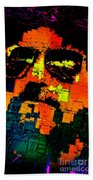 Pop Art Selfie  Beach Towel